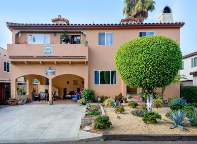 Santa Barbara Single Family Home For Sale: 1109 Walnut Ave