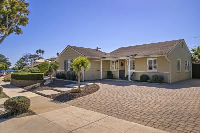 Santa Barbara County Single Family Home For Sale: 125 San Clemente St
