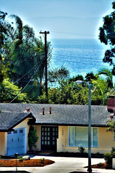 Santa Barbara County Single Family Home For Sale: 1649 Santa Rosa Ave