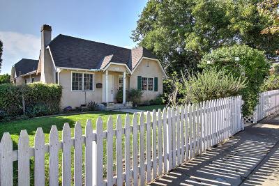 Santa Barbara County Single Family Home For Sale: 2423 Chapala St