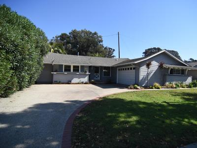 Santa Barbara County Single Family Home For Sale: 480 Arbol Verde St
