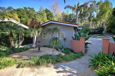 Santa Barbara County Single Family Home For Sale: 3 Orizaba Lane