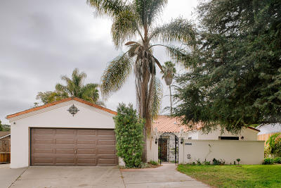 Santa Barbara County Single Family Home For Sale: 1275 Mountain View Rd
