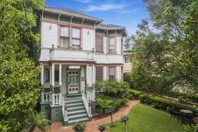 Santa Barbara County Single Family Home For Sale: 28 W Arrellaga St