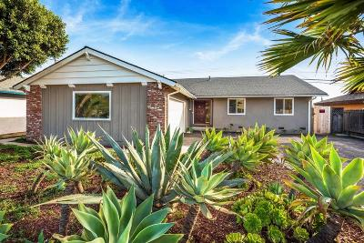 Goleta CA Single Family Home For Sale: $860,000