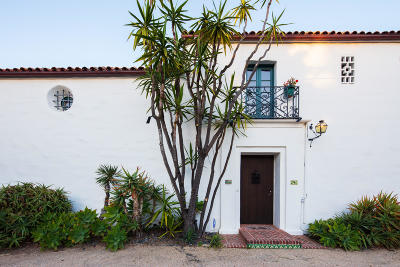 Santa Barbara Single Family Home For Sale: 240 Middle Rd