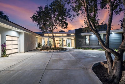 Santa Barbara County Single Family Home For Sale: 4586 Serenity Ln