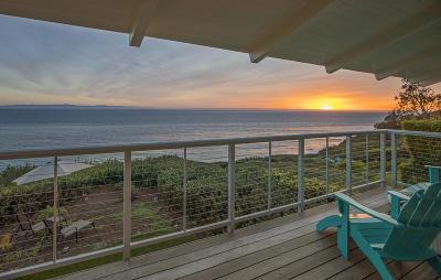 Santa Barbara Single Family Home For Sale: 2011 Edgewater Way
