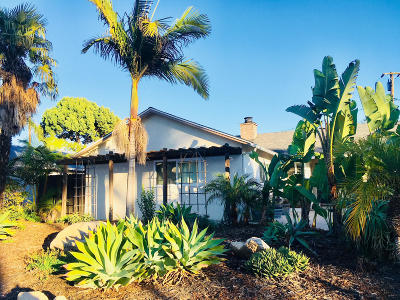 Santa Barbara CA Single Family Home For Sale: $925,000