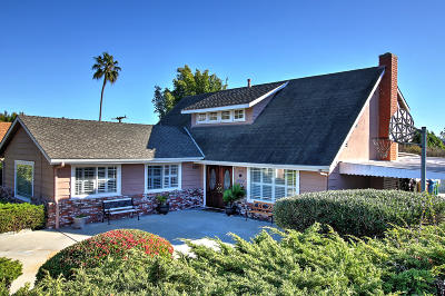 Santa Barbara Single Family Home For Sale: 3981 Maricopa Dr