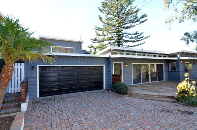 Santa Barbara Single Family Home For Sale: 3845-3847 Sterrett Ave