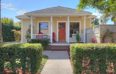 Santa Barbara County Single Family Home For Sale: 1819 San Andres St #A