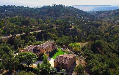 Santa Barbara County Single Family Home For Sale: 927 Coyote Rd