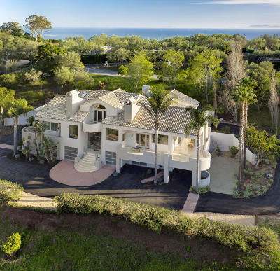 Santa Barbara County Single Family Home For Sale: 595 Freehaven Drive
