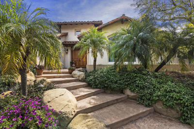 Santa Barbara County Single Family Home For Sale: 4663 Vintage Ranch Ln