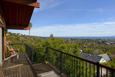 Santa Barbara County Single Family Home For Sale: 34 Rubio Rd