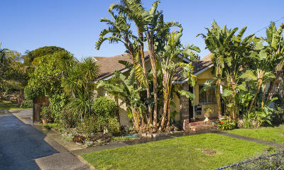 Single Family Home For Sale: 10 S Alisos St