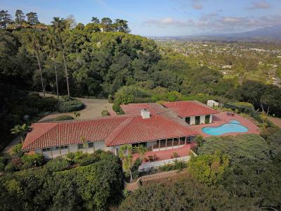Santa Barbara County Single Family Home For Sale: 715 Via Airosa