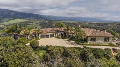 Santa Barbara County Single Family Home For Sale: 777 Glen Annie Rd