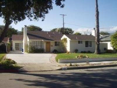 Santa Barbara County Single Family Home For Sale: 1210 Del Oro Ave