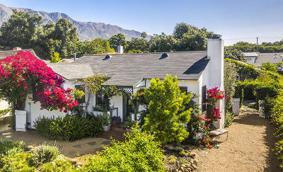 Santa Barbara County Single Family Home For Sale: 634 Orchard Ave