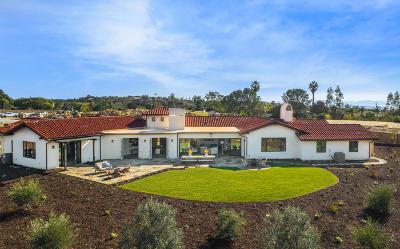 Santa Barbara County Single Family Home For Sale: 4730 Boulder Ridge Rd