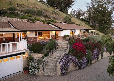 Santa Barbara Single Family Home For Sale: 1704 Mission Ridge Rd