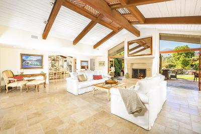 Santa Barbara County Single Family Home For Sale: 1050 Cima Linda Ln