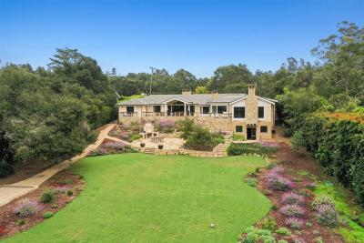 Santa Barbara County Single Family Home For Sale: 1757 Glen Oaks Dr