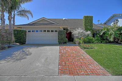 Ventura Single Family Home For Sale: 1284 Seafarer St