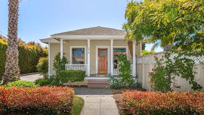 Santa Barbara Condo/Townhouse For Sale: 1819 San Andres St #A