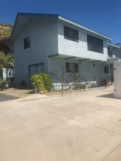 Ventura Single Family Home For Sale: 7096 Sunland Ave