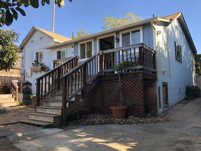 Santa Barbara County Single Family Home For Sale: 1324 E Mason St