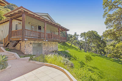 Single Family Home For Sale: 99 Hollister Ranch Rd