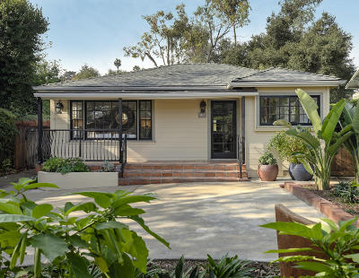 Santa Barbara County Single Family Home For Sale: 316 W Alamar Ave