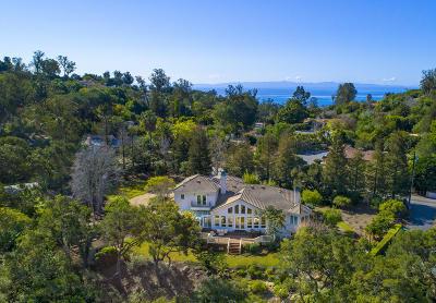Single Family Home For Sale: 355 Sierra Vista Road
