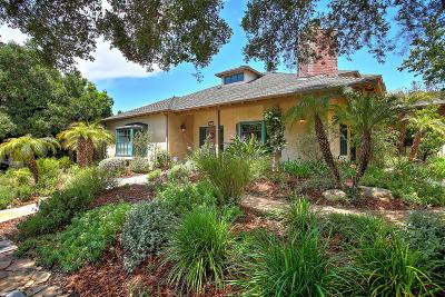 Santa Barbara County Single Family Home For Sale: 2822 Puesta Del Sol