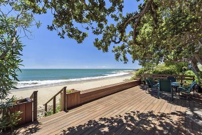 Santa Barbara Single Family Home For Sale: 1811 Fernald Point Ln