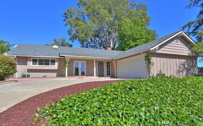 Santa Barbara CA Single Family Home For Sale: $1,250,000