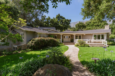 Single Family Home For Sale: 720 Ladera Lane