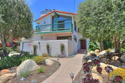 Santa Barbara County Single Family Home For Sale: 2718 Ben Lomond Dr