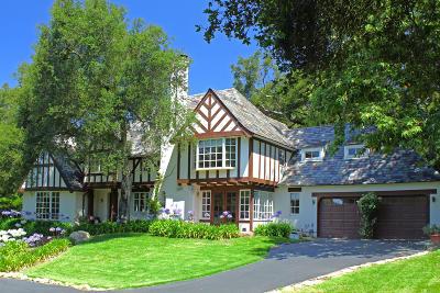 Santa Barbara County Single Family Home For Sale: 850 Rockbridge Rd