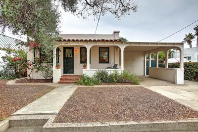 Single Family Home For Sale: 905 W Mission St