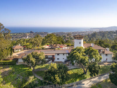 Santa Barbara Single Family Home For Sale: 904 Camino Viejo