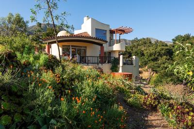 Santa Barbara Single Family Home For Sale: 931 Coyote Rd