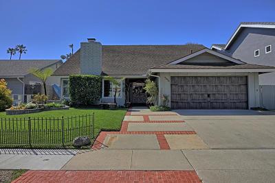 Ventura Single Family Home For Sale: 1326 Beachmont St