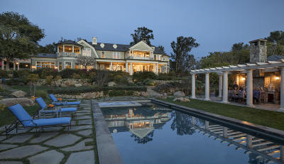 Santa Barbara Single Family Home For Sale: 851 Buena Vista Dr