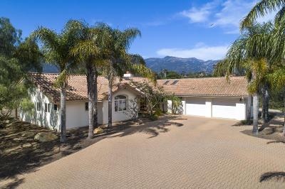 Single Family Home For Sale: 1022 Via Los Padres