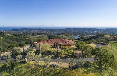 Santa Barbara Single Family Home For Sale: 2885 Spyglass Ridge Rd