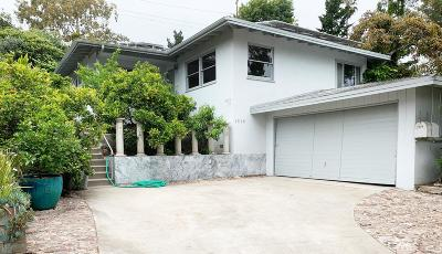 Single Family Home For Sale: 1278 San Miguel Ave